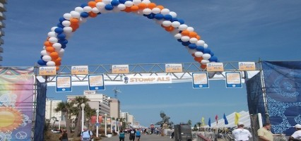 Locals Support Annual JT Walk at Oceanfront
